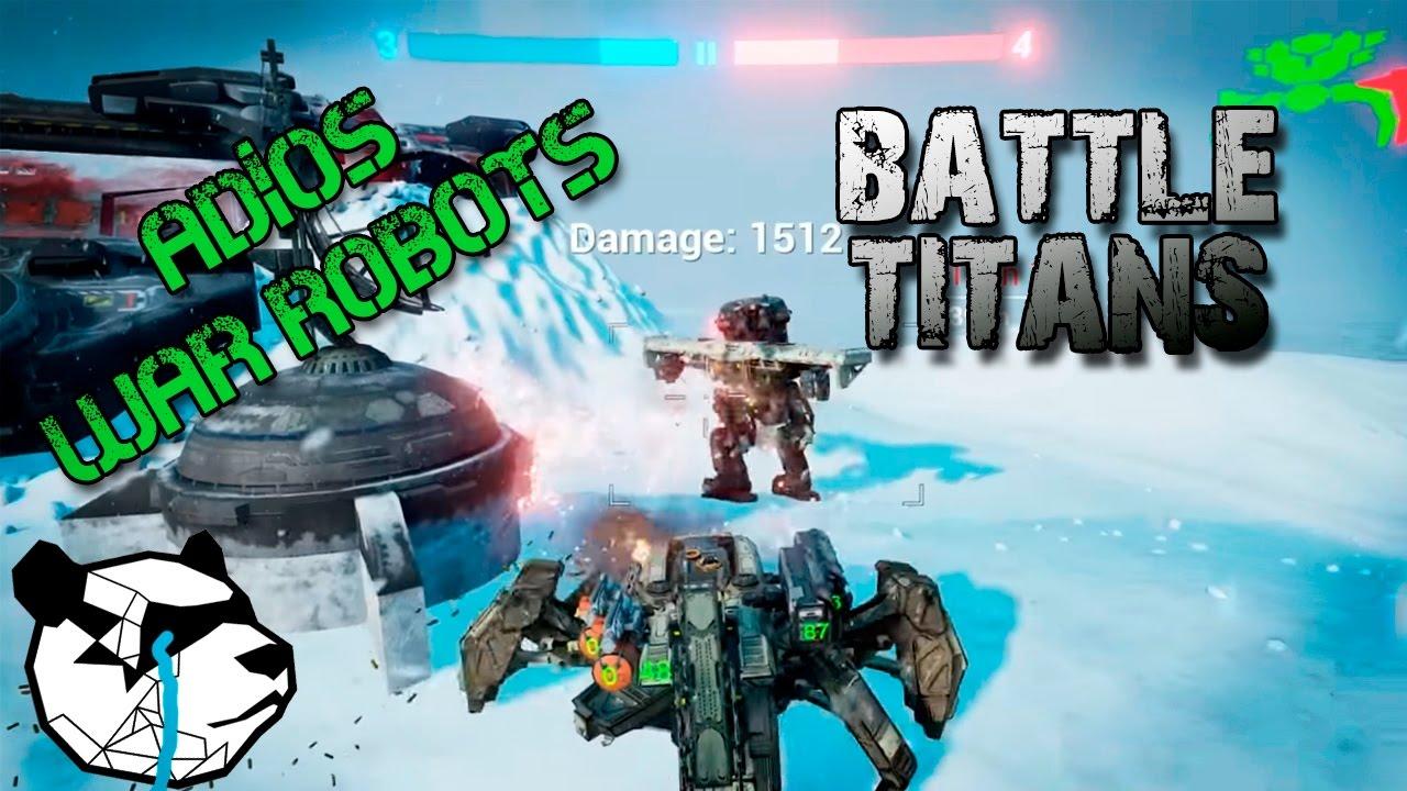 Battle Titans | EL JUEGO QUE COMPETIRÁ CON WAR ROBOTS | TODO LO QUE SE SABE