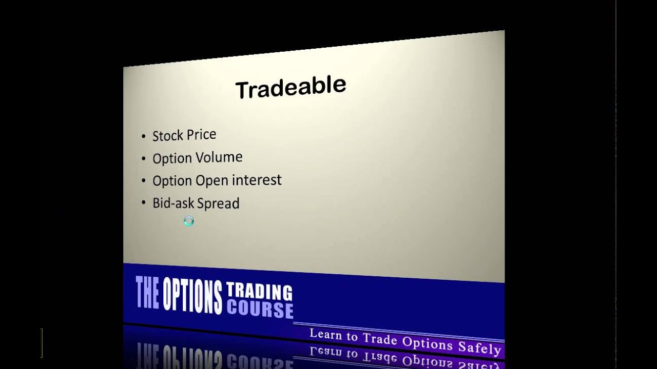 Trading options around earnings