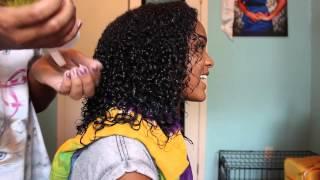 how to define heat damaged curls