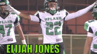 Elijah Jones Upland High : Junior Year Mid-Season