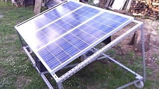 Fotovoltaico ad isola fai da te(Impianto fotovoltaico autocostruito, per produzione di energia per illuminazione,irrigazione ed utilizzo attrezzi elettrici tramite inverter., 2016-05-16T12:48:17.000Z)