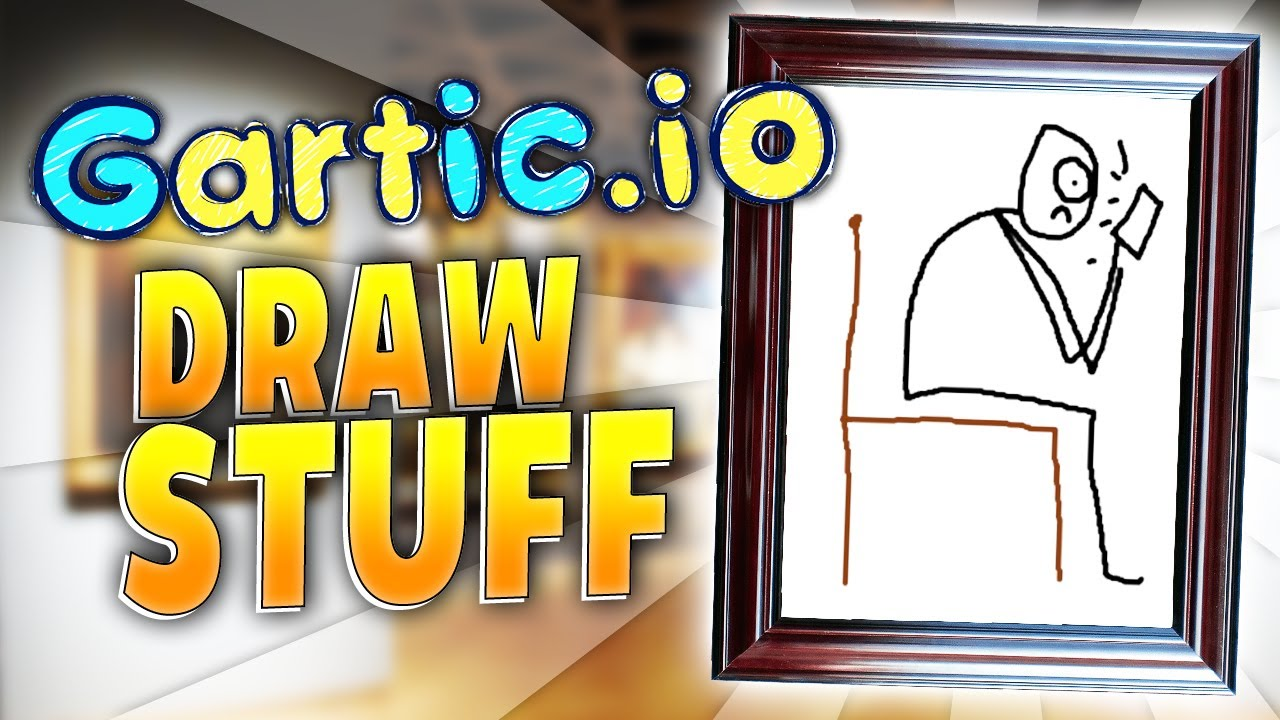 Gartic Io Online Drawing Game Better Than Skribbl Io