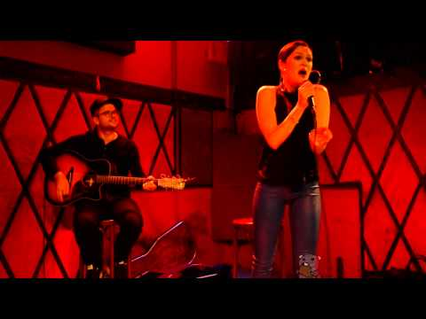 Jessie J - Domino (live @ Rockwood Music Hall 3/10/14 ACOUSTIC)