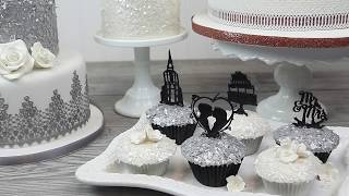 How to Use Edible Flakes on Cakes | Global Sugar Art