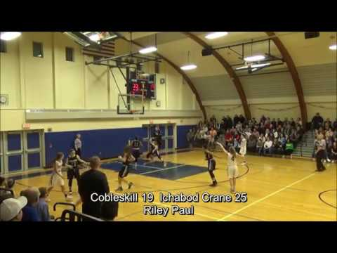 Game Highlights Girls' Varsity: Cobleskill 34 vs Ichabod Crane 37 (F)