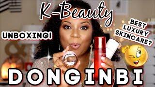 K-BEAUTY DONGINBI UNBOXING    …