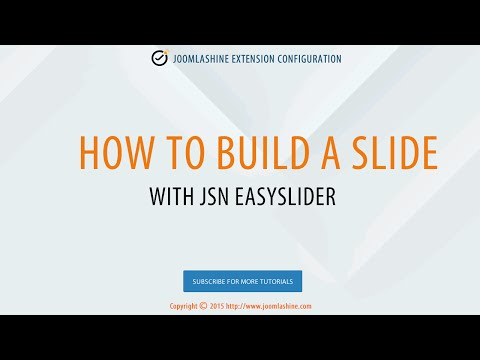 How To Build A Slide With JSN EasySlider