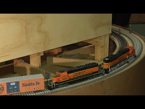 BNSF Birdwood Sub' ,layout update  episode 22.
