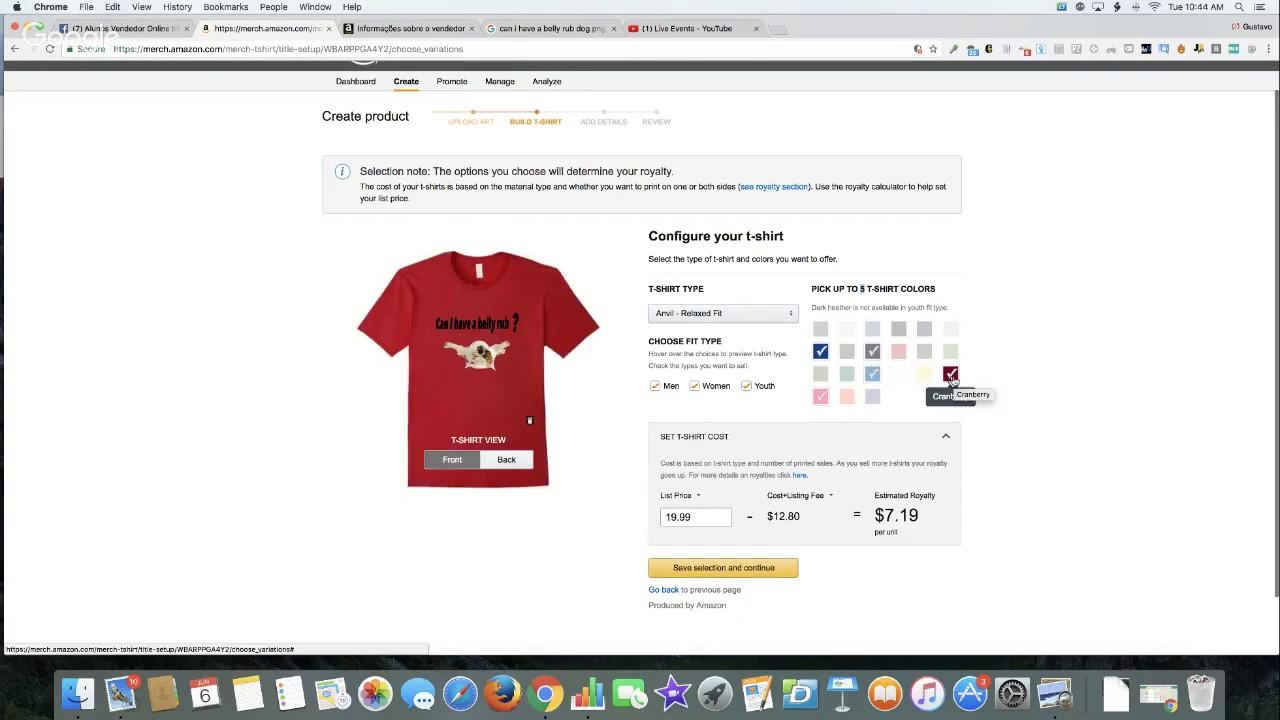 6046b44602 Como Criar Design de Camisetas GRÁTIS usando Ferramentas online  Vendedor  Online Internacional  ✓