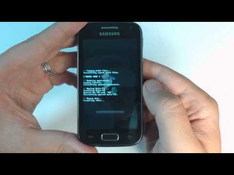 Samsung Galaxy Ace 2 I8160 - How to reset - Como restablecer datos de fabrica