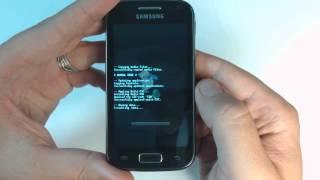 Samsung Galaxy Ace 2 I8160 - How to reset - Como restablecer datos de fabrica