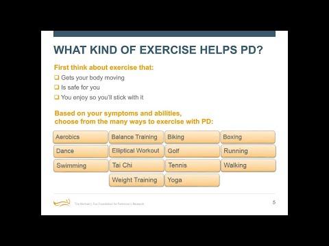 """Webinar: """"Exercise for Parkinson's"""" June 2018"""