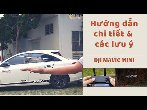 ✅ Hướng dẫn sử dụng DJI Mavic Mini chi tiết nhất và các lưu ý