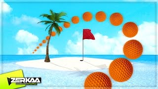 MINIGOLF ON AN ISLAND! (Golf It!)