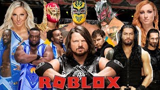 WWE 2K19 Roblox Avventura - Roblox Gameplay