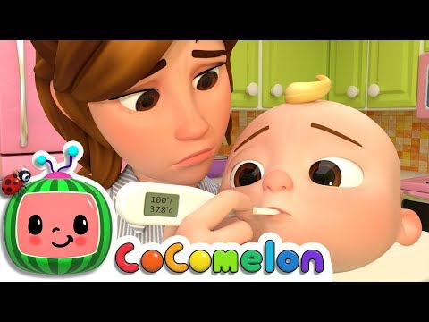 Sick Song | CoCoMelon Nursery Rhymes & Kids Songs