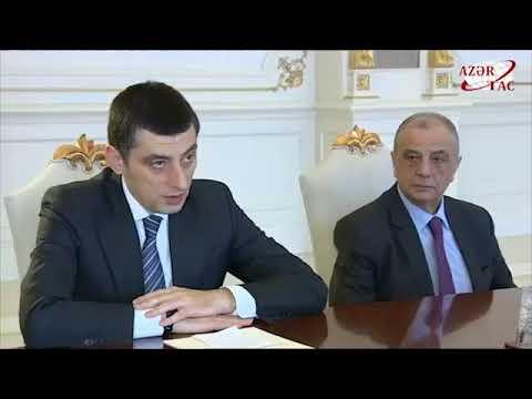 President Ilham Aliyev received Georgian vice prime minister