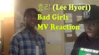 Black People React to Kpop - Lee Hyori - Bad Girls MV Reaction