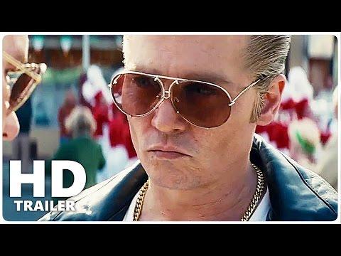 Black Mass Trailer 1 + 2 German Deutsch   Johnny Depp Film 2015