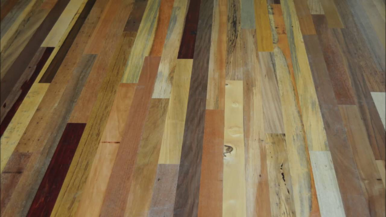 Exotic wood flooring design ideas