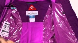 COLUMBIA Girls Alpine Action Jacket Bright Plum Foxglove - www.simplypiste.com