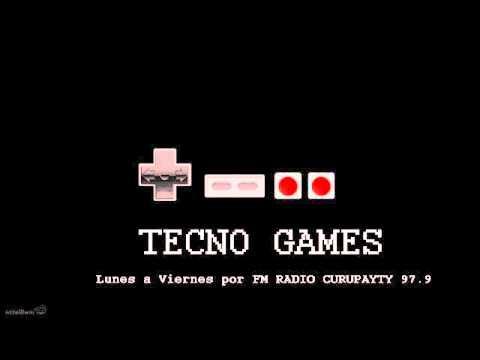 Tecnogames - Primer Programa Radial De Videojuegos Del Paraguay De Los Años 90