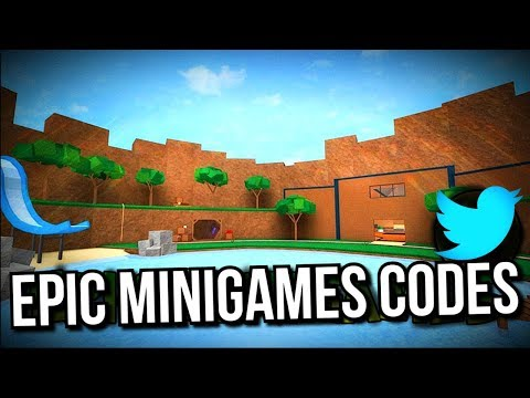 Roblox codes for epic minigames 2019