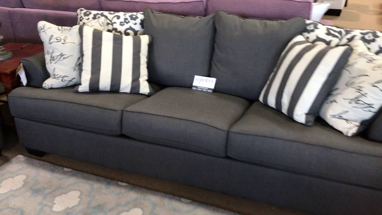 73403 Charcoal Grey Sofa Set