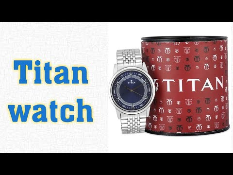 Titan Watch For Men Silver Unboxing/review