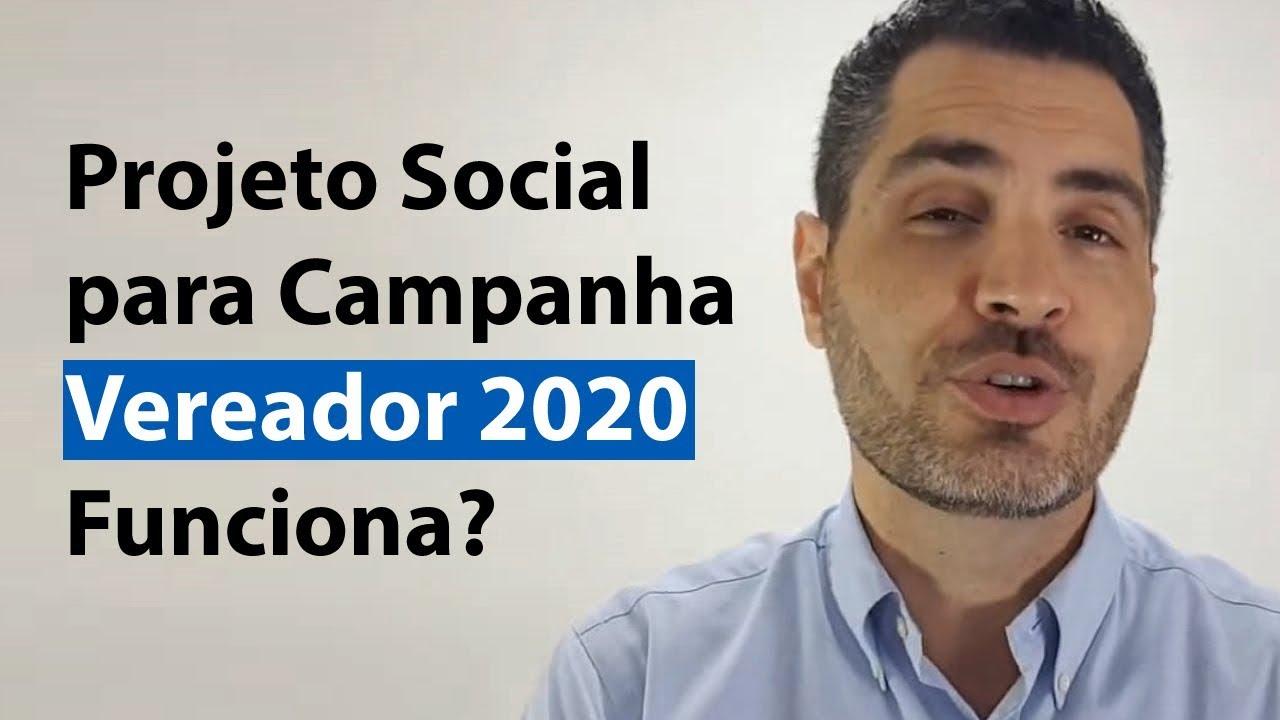 Projeto Social para Campanha Vereador 2020 Funciona? | Anderson Alves