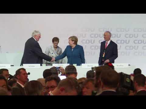 Pasuesja e Merkelit në krye të CDU - Top Channel Albania - News - Lajme