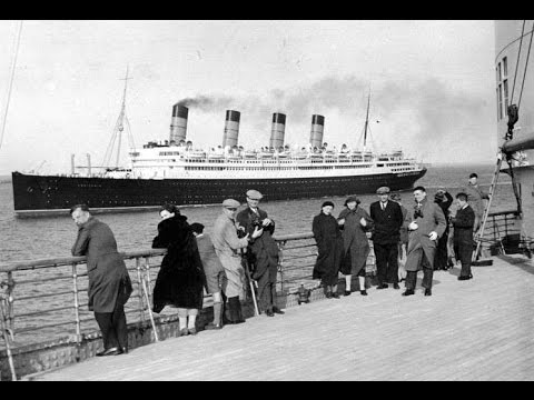 RMS Aquitania  - Some of her Passengers - Twenties