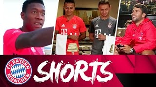 "Alaba´s Dab, ""Hobbit"" Bernat & NBA Stars   FCB Shorts #AudiFCBTour"