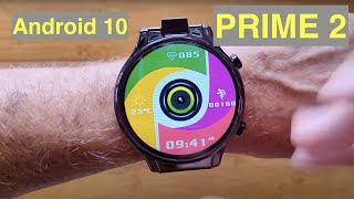 KOSPET PRIME 2 Android10 MT6762 13MP Flip Camera  2.1in Screen 4GB/64GB Smartwatch: Unbox & 1st Look