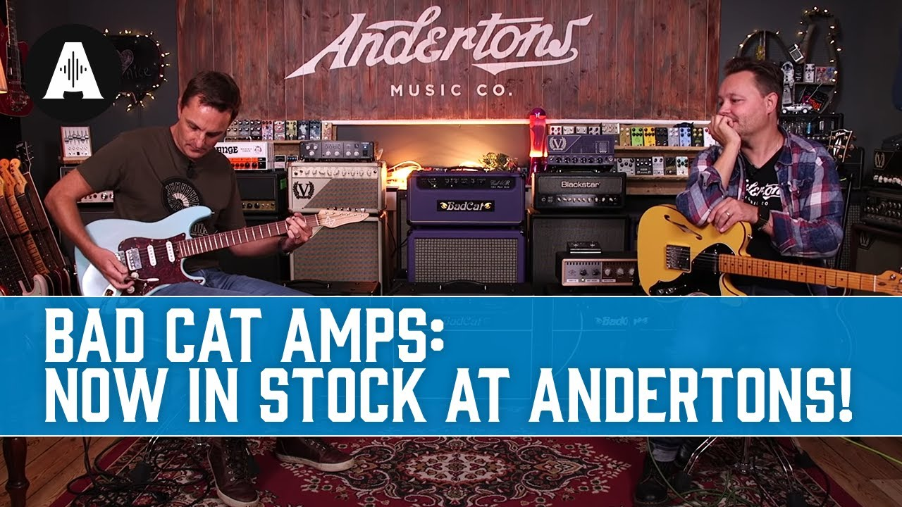 Download Bad Cat Amplifiers - Handmade, Boutique, Premium Amps from the USA! Now in Stock at Andertons