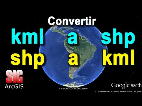 Convertir KML a Shape y SHP a KML o KMZ - ArcGIS 10.3   MasterSIG