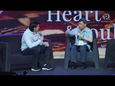 Dingdong Dantes shares advocacy with Cardinal Tagle