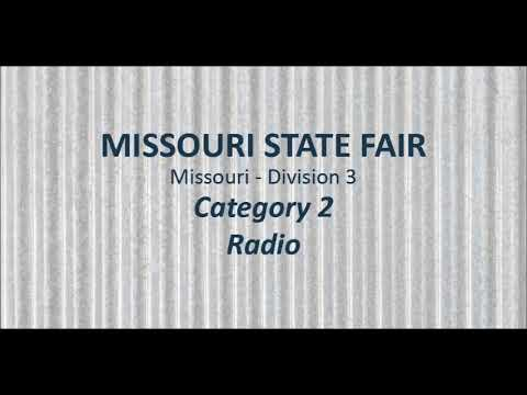 Missouri State Fair General 60 Second Radio Spot