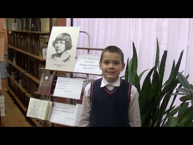 Изображение предпросмотра прочтения – ФеликсБолдовский читает произведение «Красною кистью...» М.И.Цветаевой