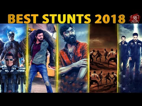 Best Fight Sequences Of 2018 | Rewind Nettv4u | 2.0 | Pariyerum Perumal | Sarkar | tik tik tik