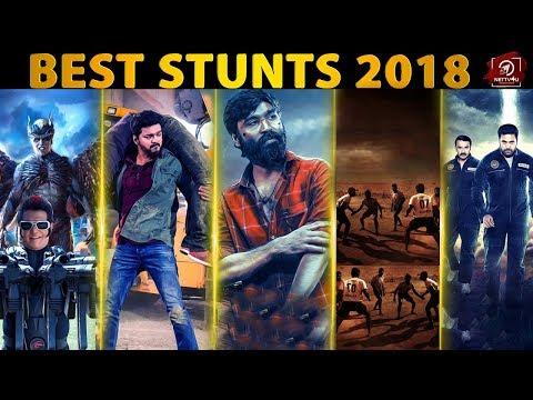 Best Fight Sequences Of 2018   Rewind Nettv4u   2.0   Pariyerum Perumal   Sarkar   tik tik tik