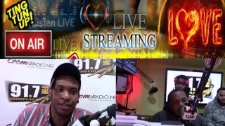 Gems Radio Angel Kidd and DJ Cue heat Interview Pierre Knxws