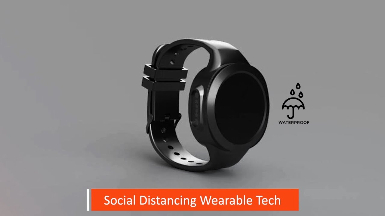 Back-to-Work Social Distancing Wearable Technology