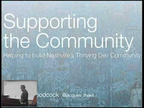 Supporting the Community: Helping to build Nashville's Thriving Dev Community