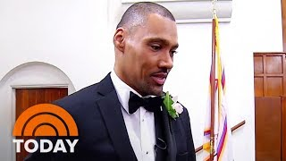 Paralyzed Former High Jumper Jamie Nieto Walks His Bride Down The Aisle | TODAY