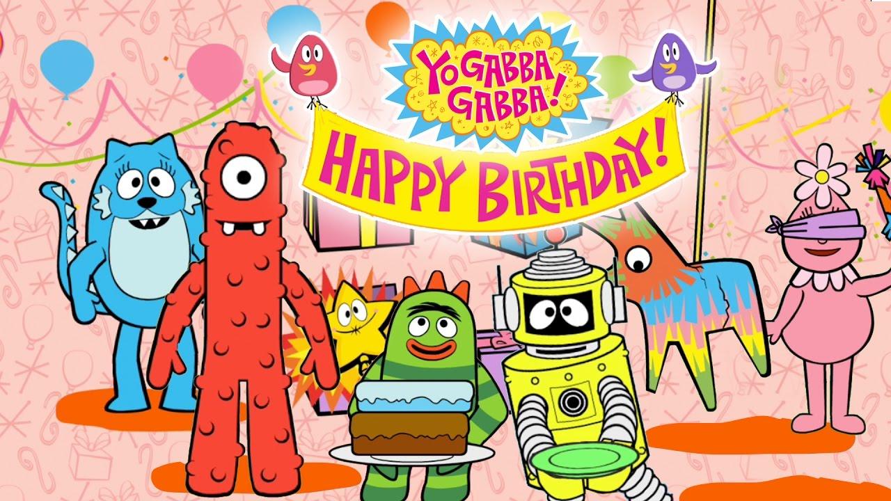 Gabba Vidoevo Yo Gabba Birthday