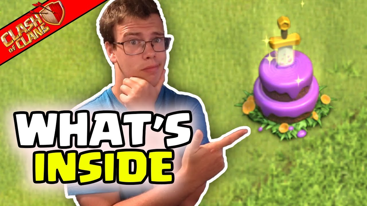 Removing 9th Anniversary Cake What Happens! Clash of Clans
