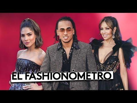 El Fashionómetro: atrevidos y elegantes, analizamos los 'looks' de los Latin GRAMMY 2018
