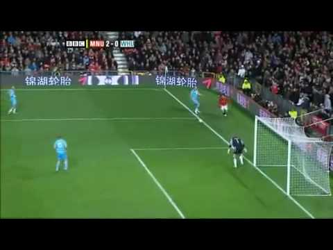 Berbatov Skill! Awesome Goal, Man Utd vs. West Ham