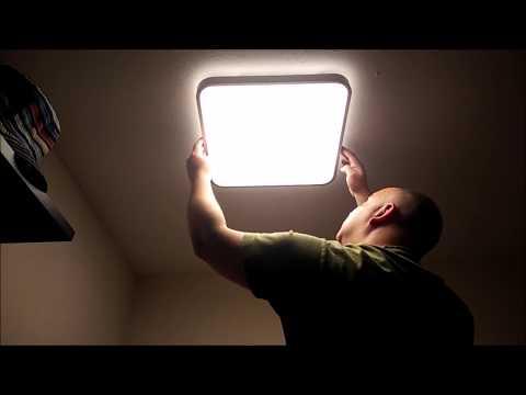 VINGO 50W LED Deckenlampe 43cmx43cm